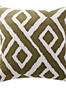 Coton Housse de coussin / Coussin avec rembourrage , Geometrique Moderne/Contemporain