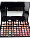 Professional 88 Color Metal Shimmer Makeup Eye Shadow Palette with Mirror