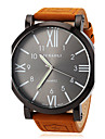Men's Watch Military Roman Numeral Big Black Dial Casual Watch Cool Watch Unique Watch