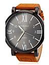 JUBAOLI® Men's Watch Military Roman Numeral Big Black Dial Casual Watch Cool Watch Unique Watch