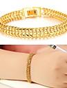 Dame Brățări Bantă Placat Auriu 18K de aur Design Unic La modă Bijuterii Auriu Bijuterii 1 buc