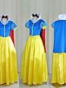 Costumes de Cosplay / Costume de Soiree Princesse / Conte de Fee Fete / Celebration Deguisement Halloween Jaune / Bleu Mosaique Robe