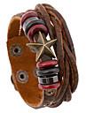 Brățări Bratari din piele Piele  Others Design Unic La modă Zilnic Casual Bijuterii Cadou Maro,1 buc