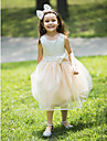 Flower Girl Dress - Palloncino Cocktail Senza Maniche Chiffon