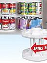 vit plast 2 lager löstagbart 14 kapacitet kan tamare lagrings arrangör