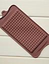 moules de grande chocolat en forme de chocolat, silicone 22,5 × 10,5 × 0,5 cm (8,9 x 4,1 x 0,2 pouces)
