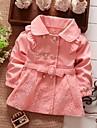 Fata lui Verde / Roz / Roșu Floral Bumbac Toamnă / Primăvară Verde / Roz / Roșu