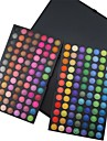 168 Lidschattenpalette Trocken / Matt / Schimmer / Mineral Lidschatten-Palette Puder NormalParty Make-up / Halloween Make-up / Smokey