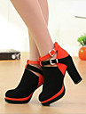 Women\'s Shoes Platform Chunky Heels Suede Pumps Shoes More Colors available