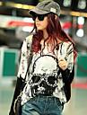 JOYCE®Women\'s Korean Personality Skull Bat Long Sleeve T-Shirt