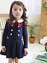 Fata lui Albastru / Gri Solid Bumbac Toamnă / Primăvară Albastru / Gri