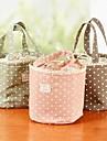 anti-fouling bomullsfiber tråd utlopp våg duk konst picknick lunch väska färg slumpmässigt