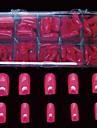 500 pcs peche des conseils pleins de faux ongles couvrent decoration pour des conseils acryliques de doigt