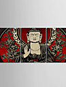 Stretched Canvas Art Buddha Set of 3