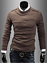 Men\'s Fashion Round Neck Long Sleeve Casual Sweater