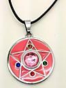 Smycken Inspirerad av Sailor Moon Cosplay Animé Cosplay Accessoarer Halsband Rosa Legering / PU Läder Kvinna