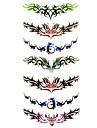 Tatueringsklistermärken - Mönster/Waterproof - Annat - till Dam/Girl/Vuxen/Tonåring - Multifärgad - Papper - #(1) - styck #(18.5*8.5)