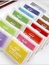 pad bricolage scrapbooking artisanat d\'encre (couleurs assorties)