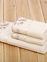Ensemble de serviette de bainSolide Haute qualite 100% Microfibre Serviette