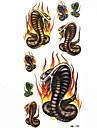 impermeable tir cobra tatouage temporaire echantillon autocollant tatouages moule pour l\'art corporel (18.5cm * 8.5cm)