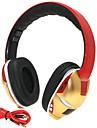 hi-fi iron man 3.5mm tf kortplats hopfällbar bas musik stereo trådlös Bluetooth hörlurar med mikrofon tf fm aux