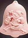 christmas santa claus outils fondant gateau au chocolat silicone moule a cake de decoration, l9cm * w8.3cm * h3.7cm