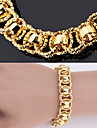 bracelet plaque nouveau grand bracelet de haute qualite bracelet en or 18 carats trapu platine