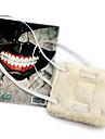 Masque Inspire par Tokyo Ghoul Cosplay Anime Accessoires de Cosplay Masque Blanc Polaire Masculin