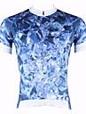 PALADIN® Maillot de Cyclisme Homme Manches courtes Velo Respirable / Sechage rapide / Resistant aux ultraviolets Hauts/Tops100 %