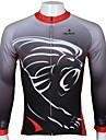 PALADIN® Maillot de Cyclisme Homme Manches longues Velo Respirable / Sechage rapide / Resistant aux ultraviolets Maillot / Hauts/Tops100