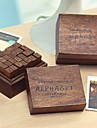 versaler mönster vintage frimärken set (28 st / set)