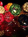 20LED 2,5 millions de Noel decoratifs guirlandes lumineuses en rotin (AC220V), couleur aleatoire
