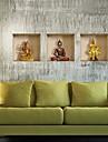 3d de buddha väggdekorationer väggdekaler