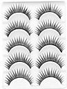 ögonfransar Ögonfrans Ögonfrans Naturligt långa Volumized / Naturlig / Lockigt Fiber