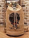 Väska Inspirerad av Tokyo Ghoul Cosplay Animé Cosplay Accessoarer Väska Brun Kanvas Man
