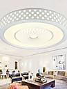 24 Contemporain LED / Ampoule incluse Metal Montage du fluxSalle de sejour / Chambre a coucher / Salle a manger / Bureau/Bureau de maison