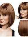 dammode brunt kort hår peruk scorpio peruk med full Hjälp
