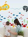 väggdekorationer Väggdekaler marina djur stil dekorativa sticker