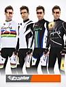 KOOPLUS® Veste avec Pantalon de Cyclisme Homme Manches longues VeloRespirable Garder au chaud Design Anatomique Zip frontal La peau 3