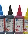 encre de sublimation 100ml de recharge d\'encre compatible epson (4 couleurs 1 lot)