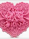 Moule de Cuisson Fleur Pour Gateau Pour Cookie Pour Tarte Caoutchouc de silicone 3D Ecologique Bricolage