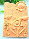 a face instrumentele decorare strălucire soarelui floarea pasăre tort de ciocolată fondantă de silicon mucegai tort, l10.6cm * w8.1cm * h3cm