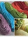26m vridna papper fiber hantverk förmån presentförpackning snöre rep