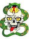 diy serie ond skalle&boa mönsterdesign pvc dekoration klistermärke för bil och andra