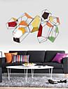 E-HOME® Metal Wall Art Wall Decor, Abstract Graphics Colorful Wall Decor