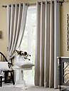 Två paneler Fönster Behandling Rustik / Modern / Nyklassisistisk / Medelhavet / Europeisk Living Room Polyester MaterialBlackout Gardiner