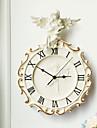 tema del angel del reloj de pared del polyresin en relieve