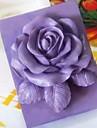 ros blomma formad fondant tårta choklad silikonform kaka dekoration verktyg, l9.3cm * w9cm * h3.8cm