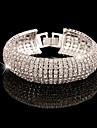 Brățări cu Lanț & Legături imitație de diamant Design Unic La modă Bijuterii Auriu Argintiu Bijuterii 1 buc