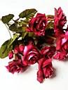 Gren Silke Roser Bordsblomma Konstgjorda blommor #(43*18*18cm(16.9*7.1*7.1in))